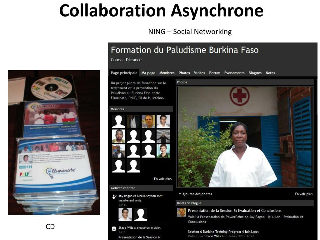 Collaboration Asynchrone
