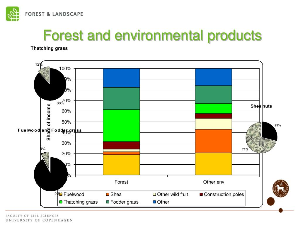 Forest and environmental products
