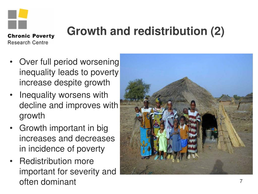 Growth and redistribution (2)