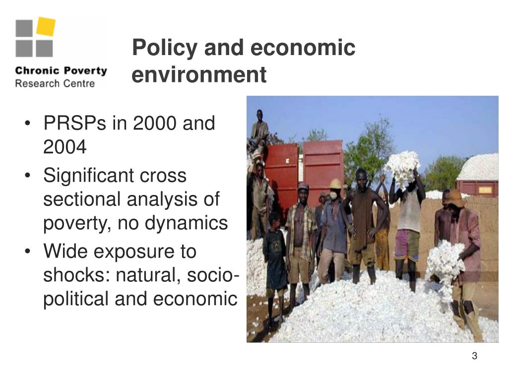 Policy and economic environment