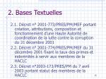 2 bases textuelles