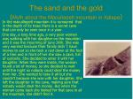 the sand and the gold myth about the macuitepetl mountain in xalapa