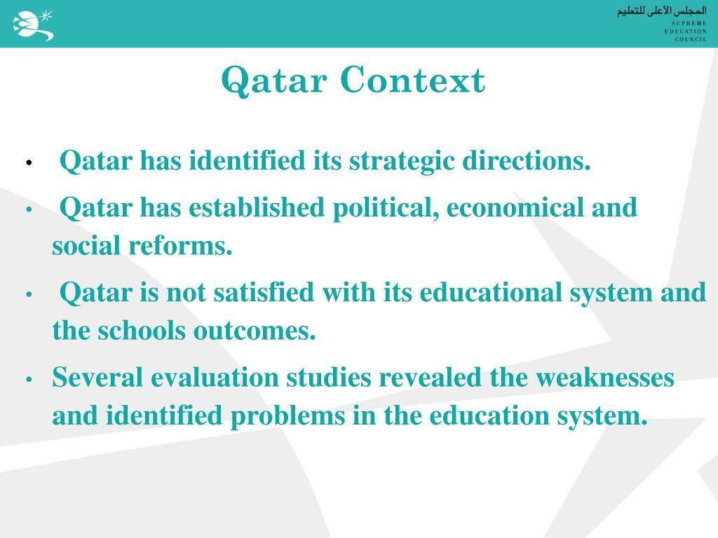 Qatar Context