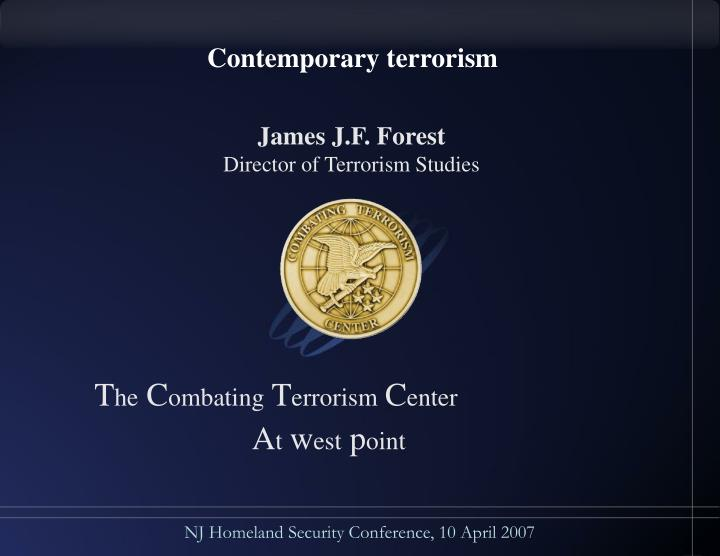 Contemporary terrorism