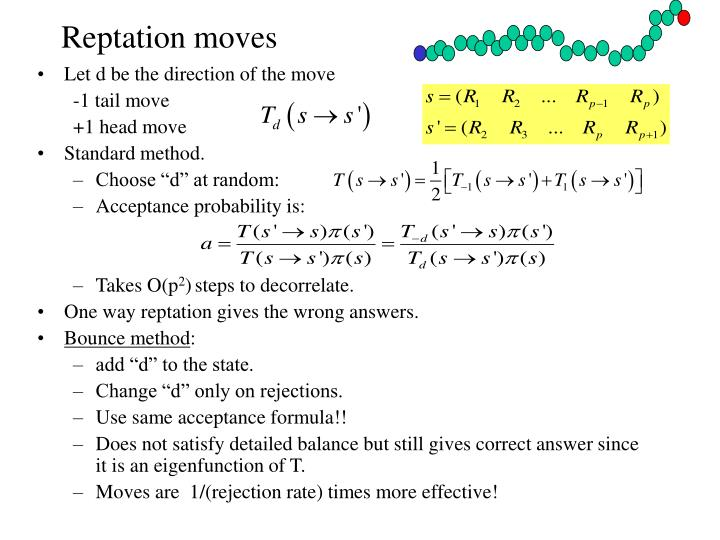 Reptation moves