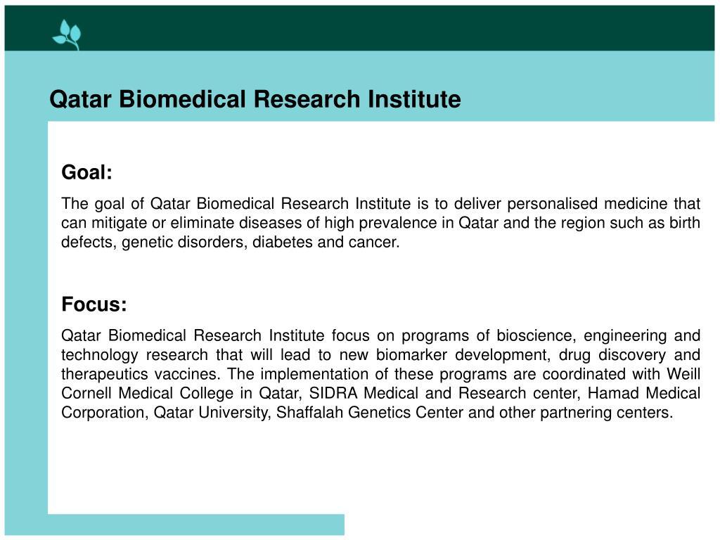 Qatar Biomedical Research Institute