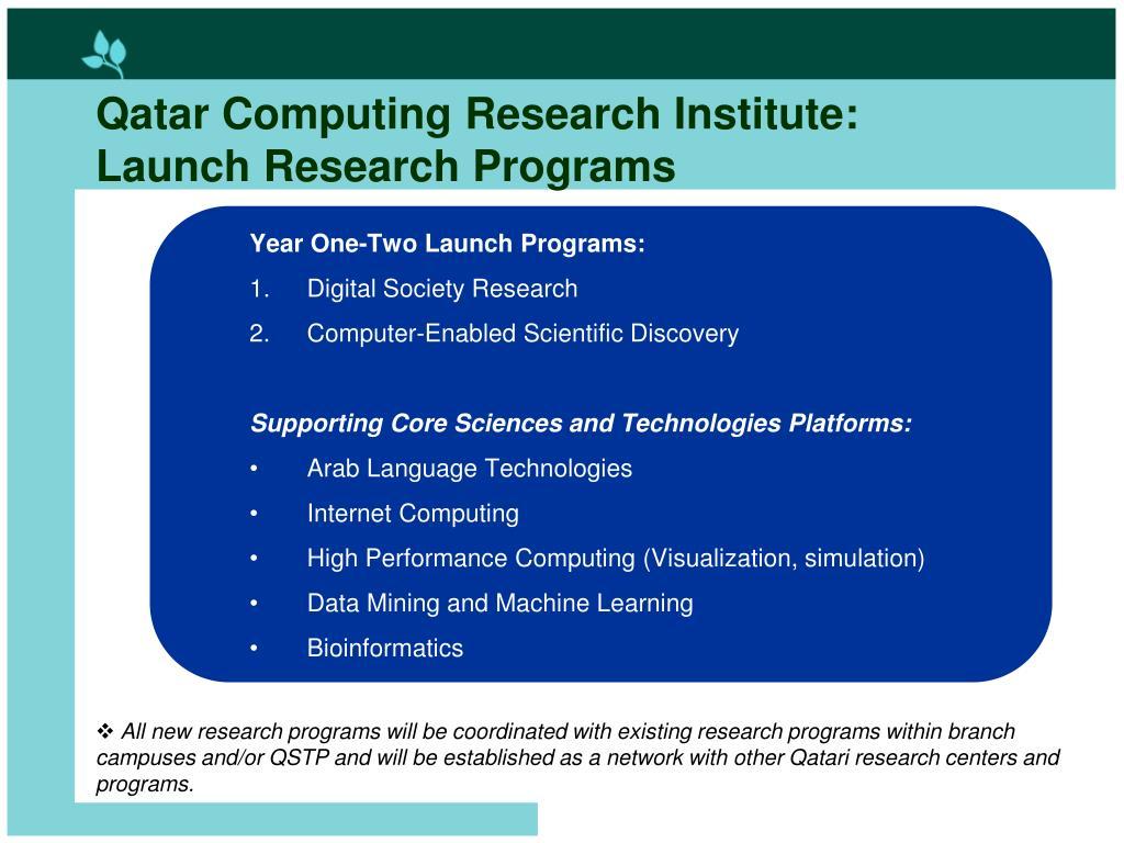 Qatar Computing Research Institute: