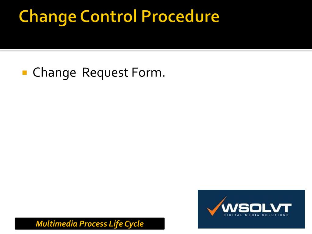 Change Control Procedure