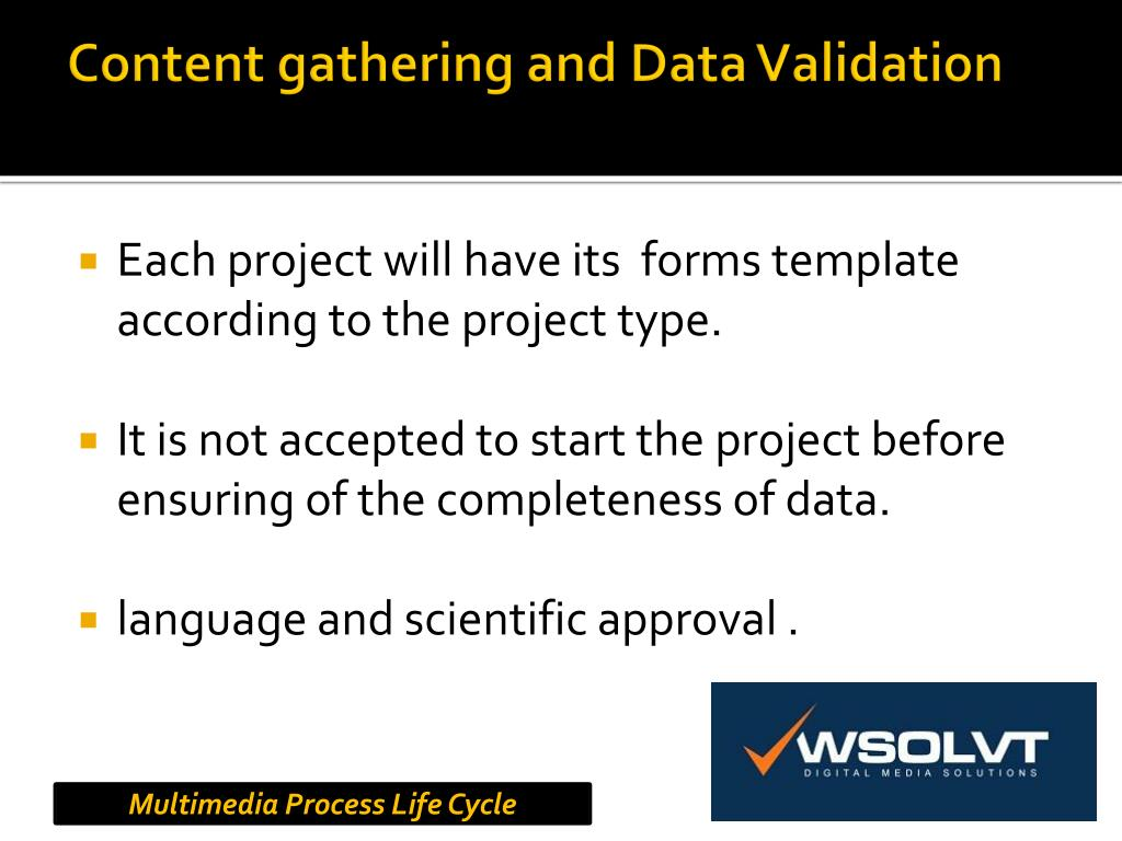 Content gathering and Data Validation