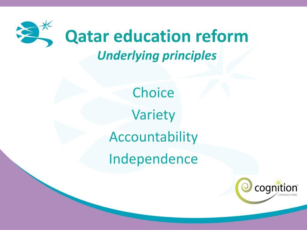 Qatar education reform