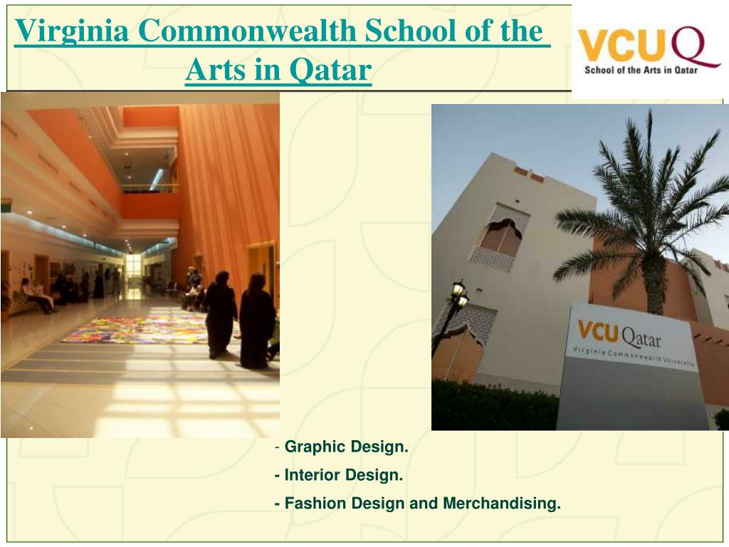 Virginia Commonwealth School of the Arts in Qatar