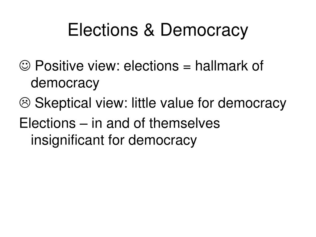 Elections & Democracy