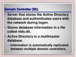domain controller dc