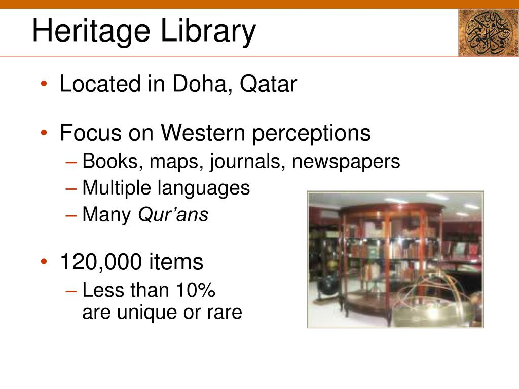Heritage Library