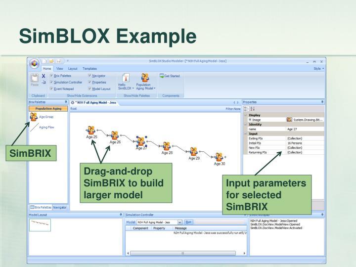 SimBLOX Example