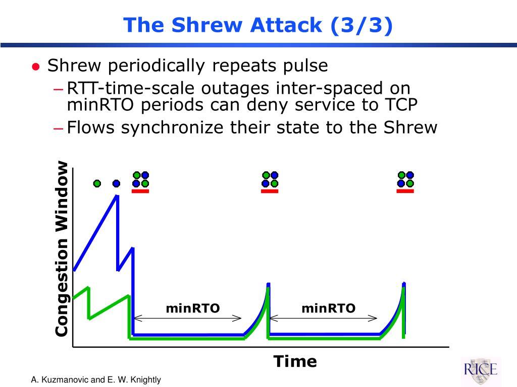 The Shrew Attack (3/3)