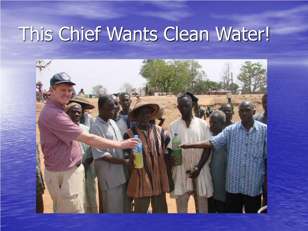 This Chief Wants Clean Water!