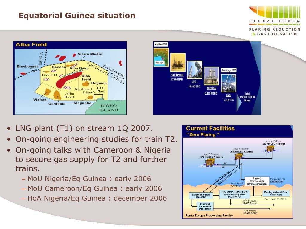 Equatorial Guinea situation