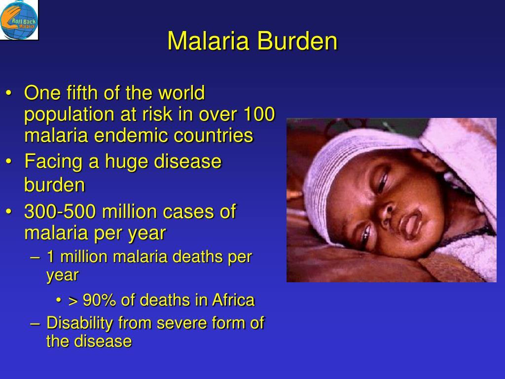 Malaria Burden