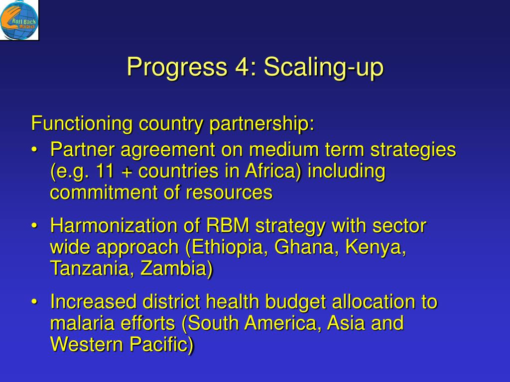 Progress 4: Scaling-up