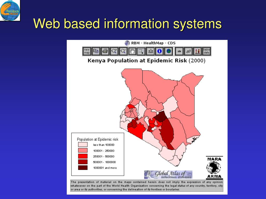 Web based information systems