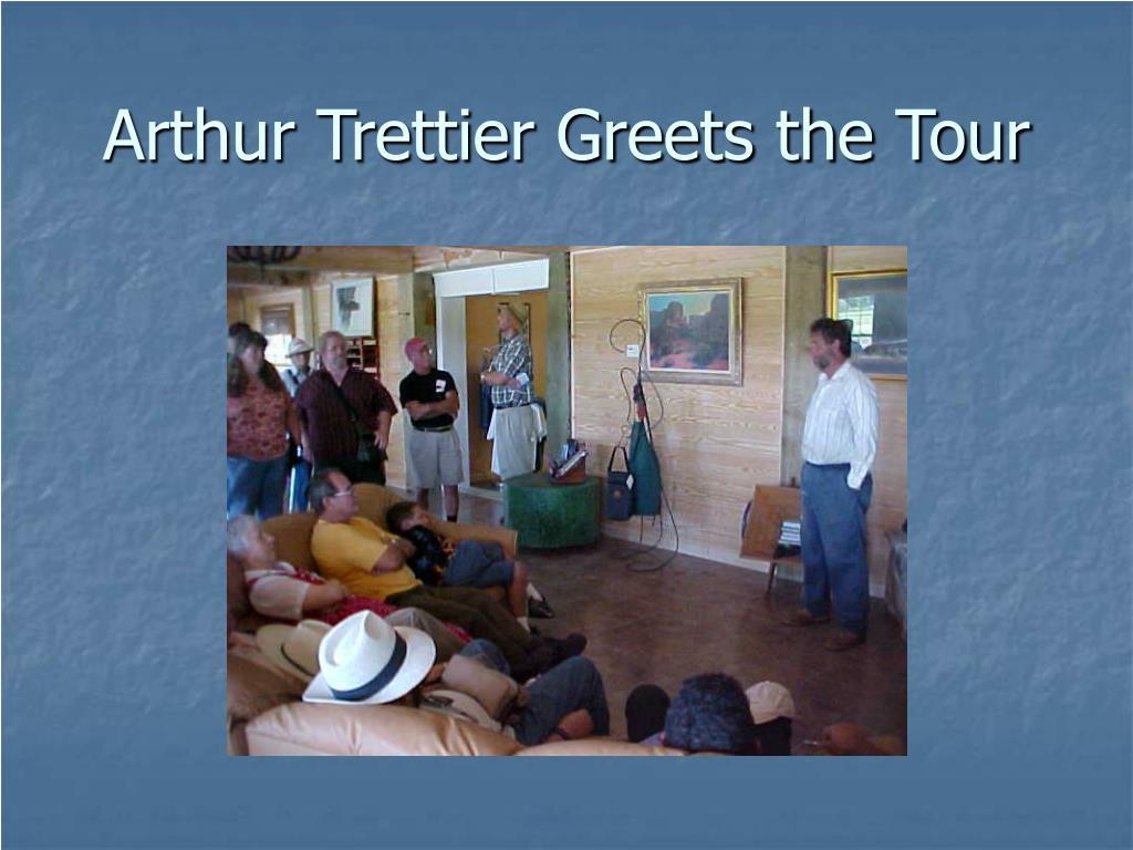 Arthur Trettier Greets the Tour