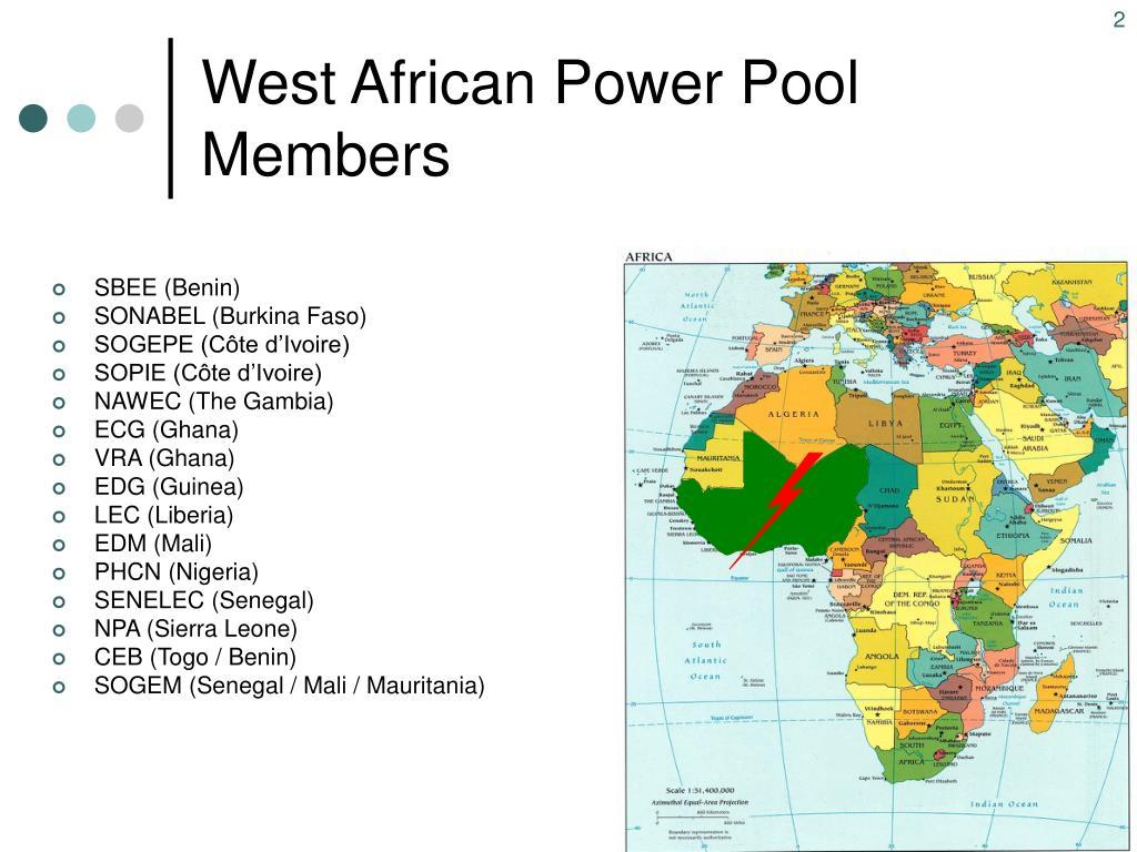 West African Power Pool Members