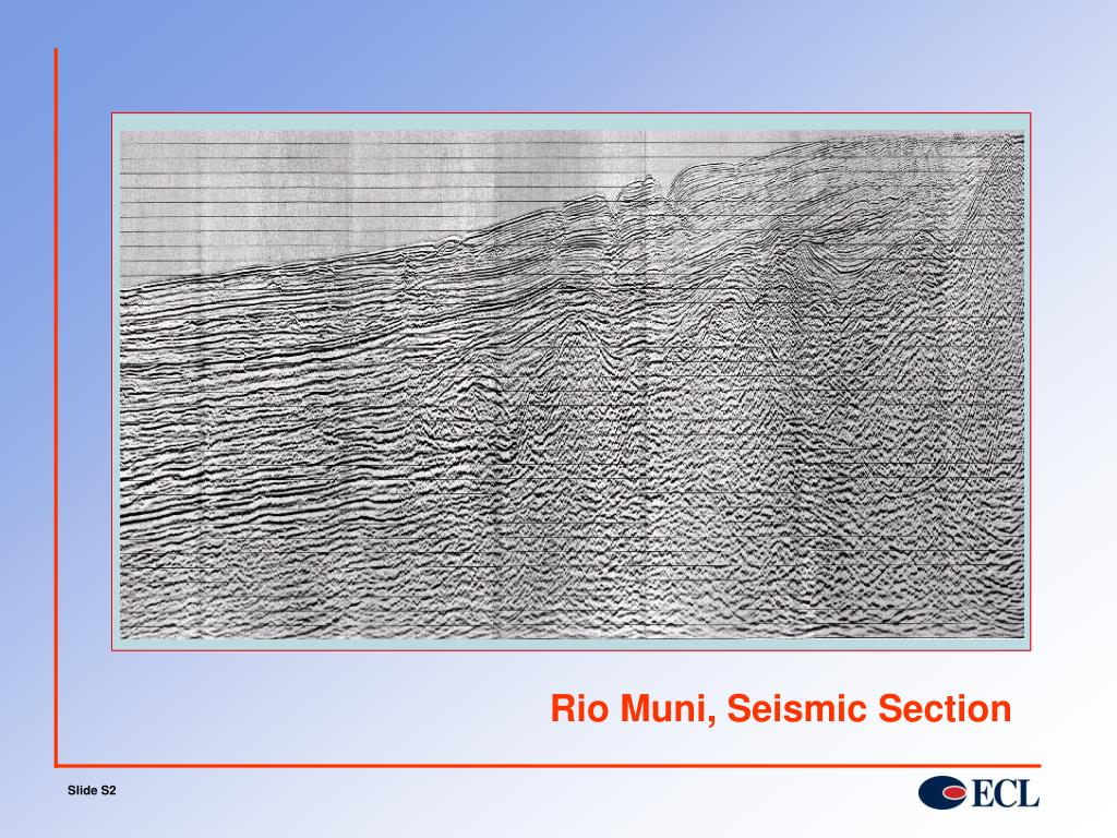 Rio Muni, Seismic Section