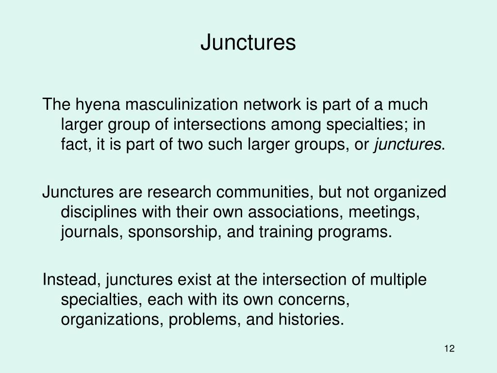 Junctures