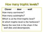 how many trophic levels16