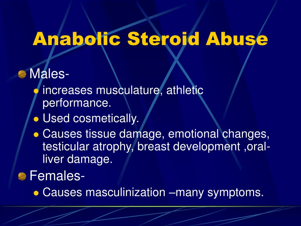 Anabolic Steroid Abuse