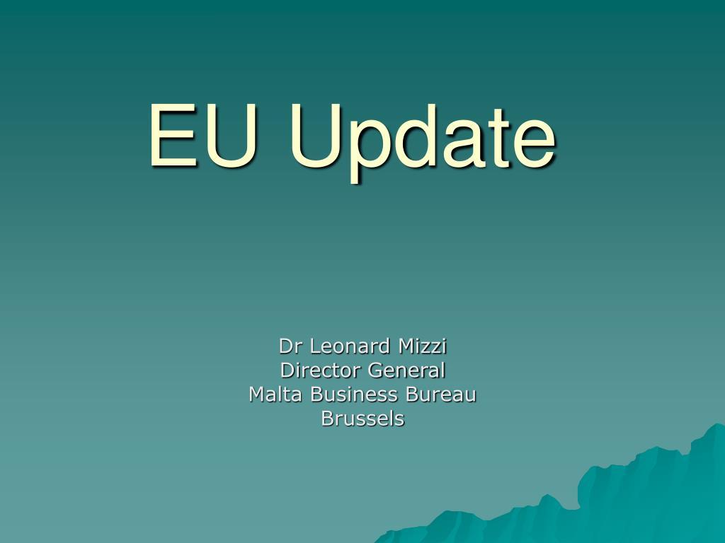 EU Update