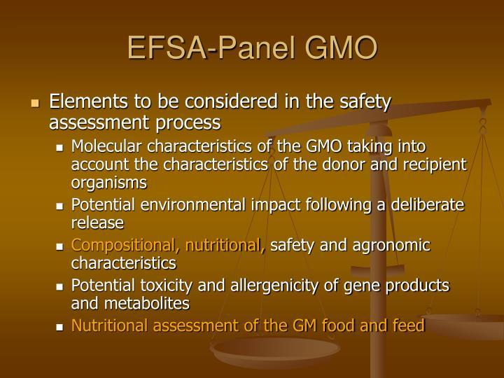 EFSA-Panel GMO