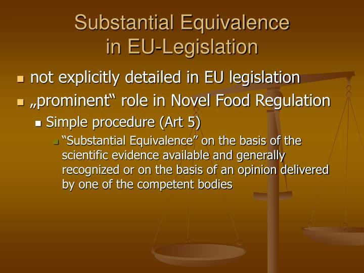 not explicitly detailed in EU legislation