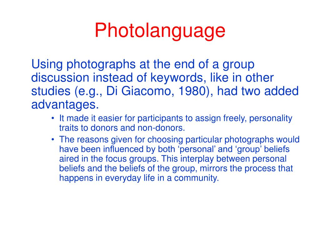 Photolanguage