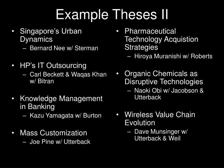 Singapore's Urban Dynamics