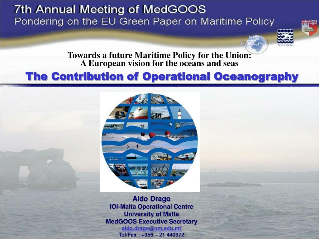 Towards a future Maritime Policy for the Union: