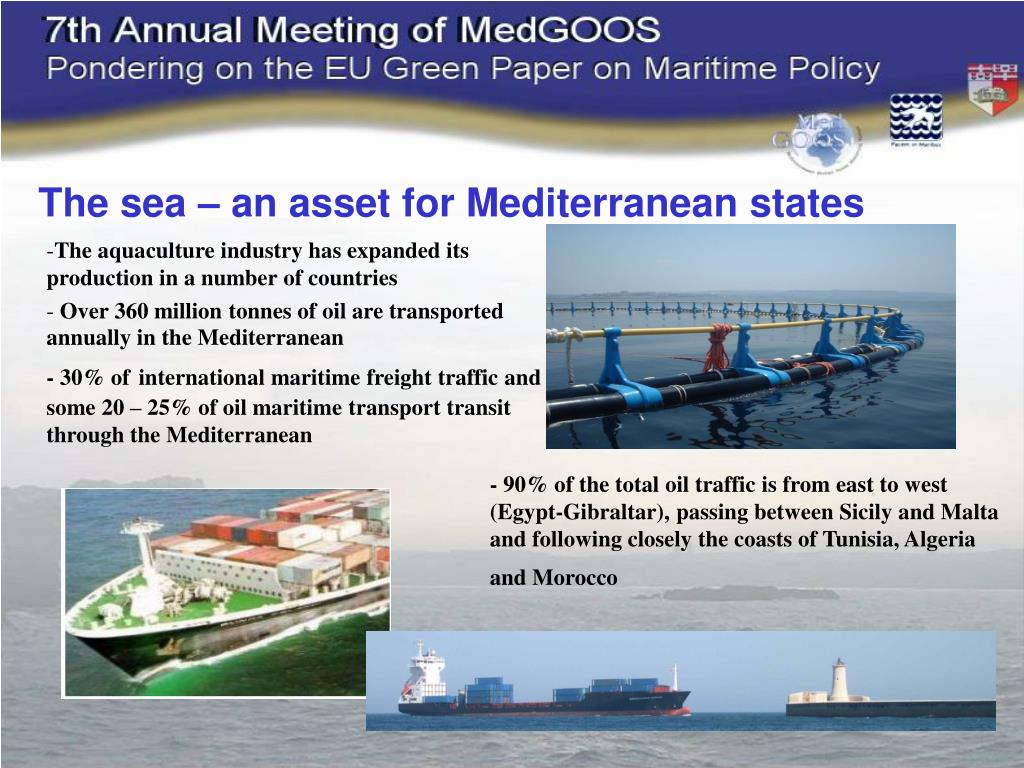 The sea – an asset for Mediterranean states