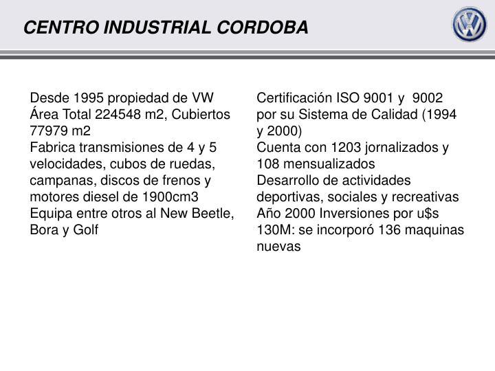 Desde 1995 propiedad de VW