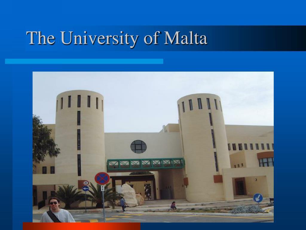 The University of Malta