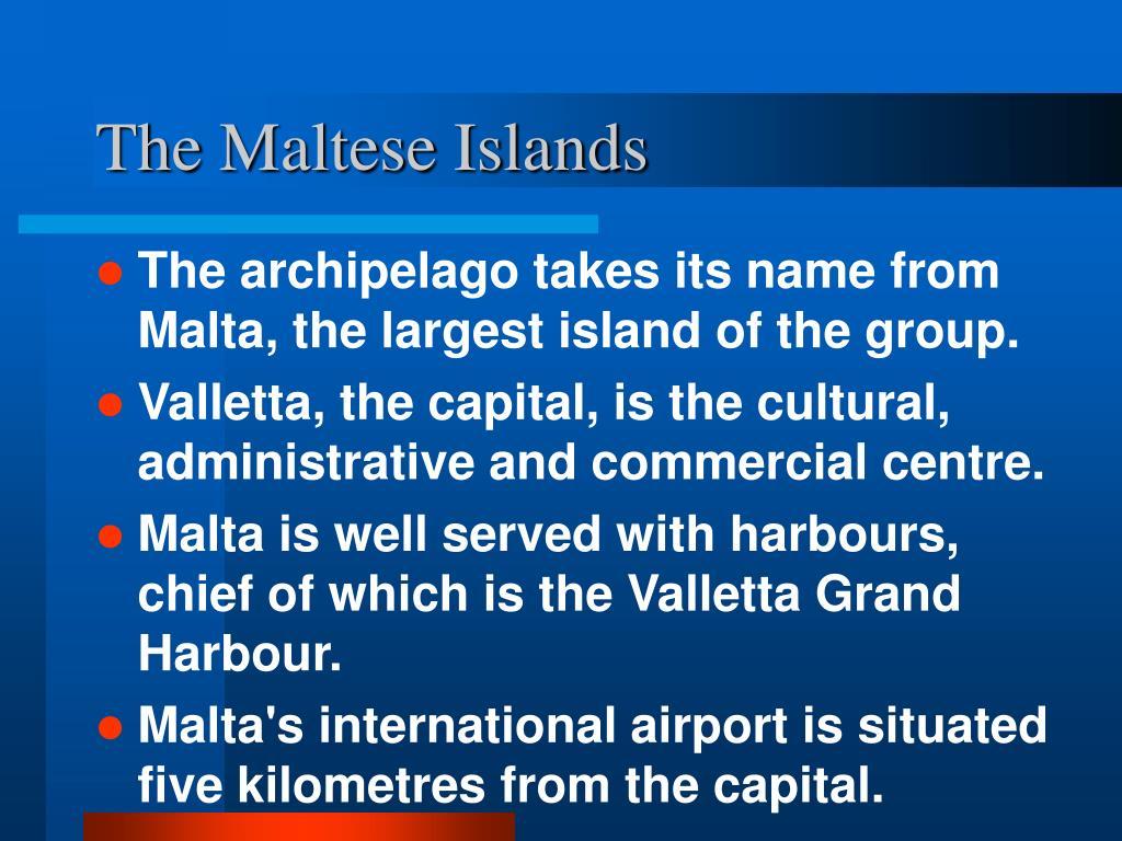 The Maltese Islands