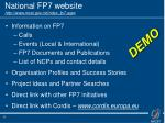 national fp7 website http www mcst gov mt index fp7 aspx