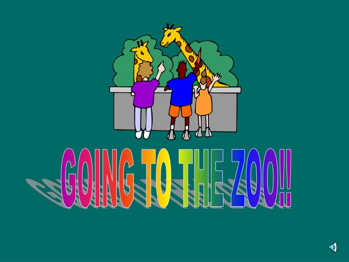 GOING TO THE ZOO!!