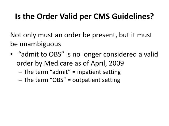 cms guidelines for hospice documentation