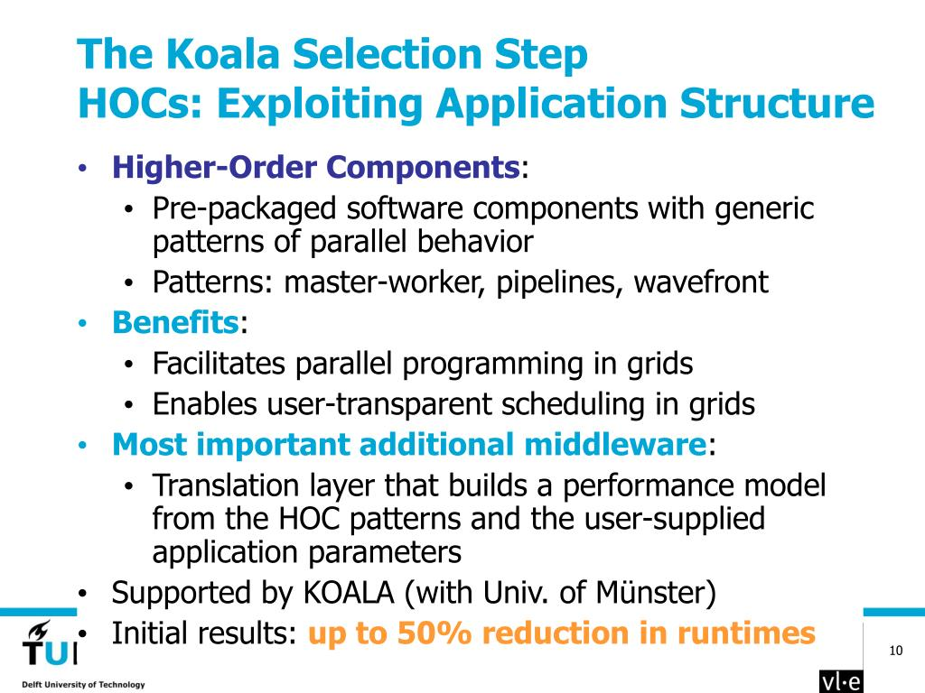 The Koala Selection Step