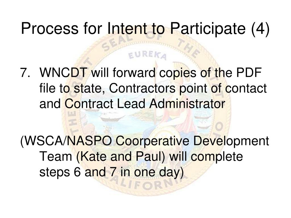 Process for Intent to Participate (4)