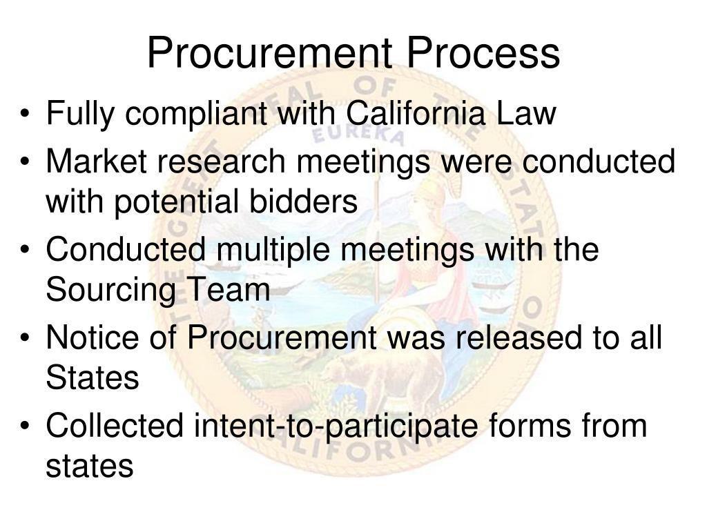 Procurement Process