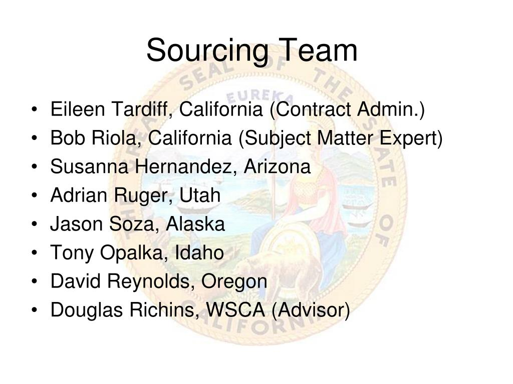 Sourcing Team