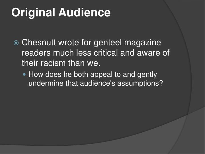 Original Audience