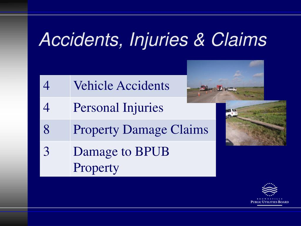 Accidents, Injuries & Claims
